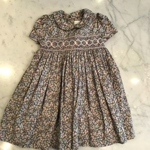 Luli Smocked Dress & Matching Hair Bow